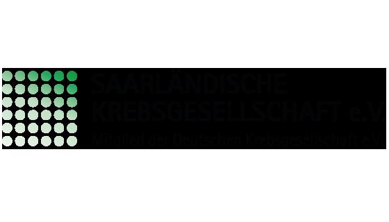 Logo der Saarländischen Krebsgesellschaft