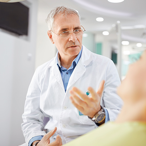 Bild eines Arztes