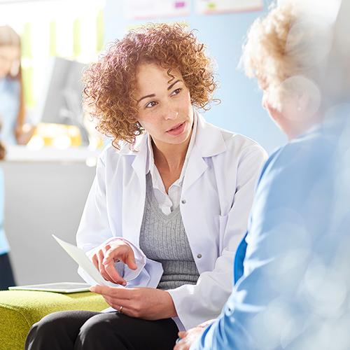 Bild einer Ärztin